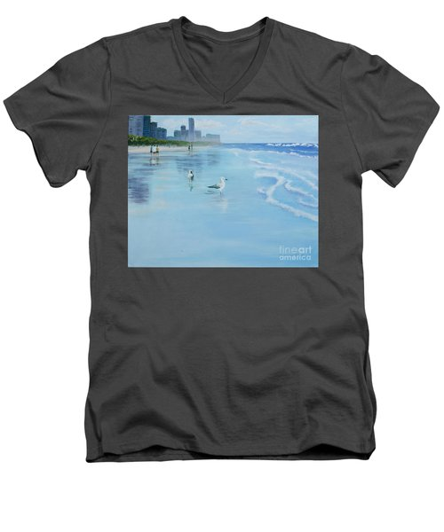 Gold Coast Australia, Men's V-Neck T-Shirt