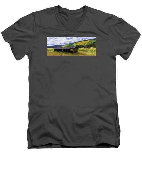 Gold Country  Men's V-Neck T-Shirt