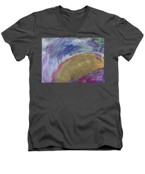 Gold Rush  Men's V-Neck T-Shirt