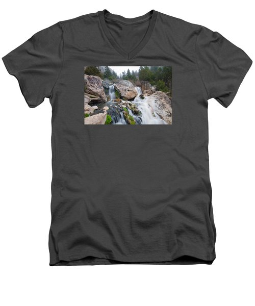 Goldbug Hot Springs Men's V-Neck T-Shirt