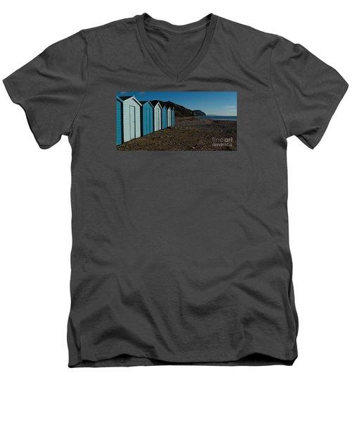Golden Cap Men's V-Neck T-Shirt by Gary Bridger