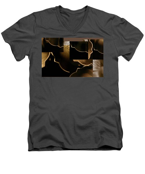 Golden Curves - Men's V-Neck T-Shirt