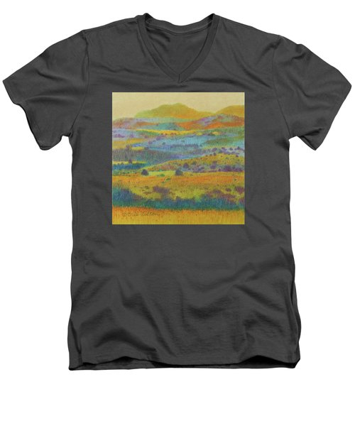 Golden Dakota Day Dream Men's V-Neck T-Shirt