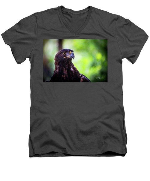 Golden Eagle 2 Men's V-Neck T-Shirt