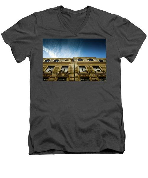 Golden Facade Men's V-Neck T-Shirt