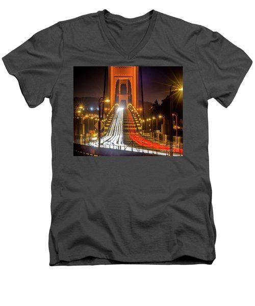 Golden Gate Traffic Men's V-Neck T-Shirt