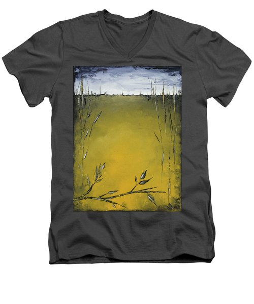 Golden Greens Men's V-Neck T-Shirt