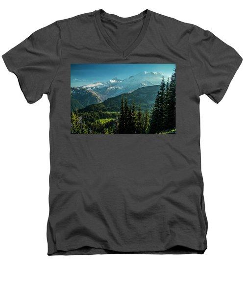 Golden Hour Men's V-Neck T-Shirt