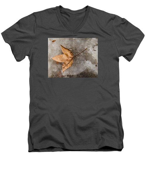 Golden Leaf Men's V-Neck T-Shirt