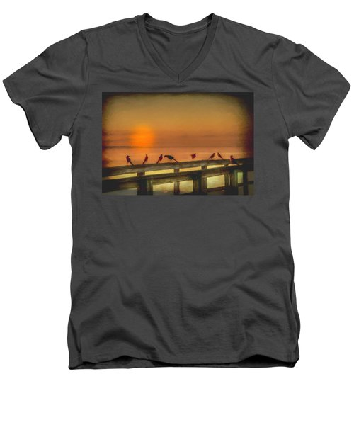 Golden Moment Men's V-Neck T-Shirt