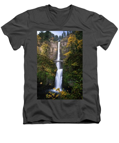 Golden Multnomah Men's V-Neck T-Shirt