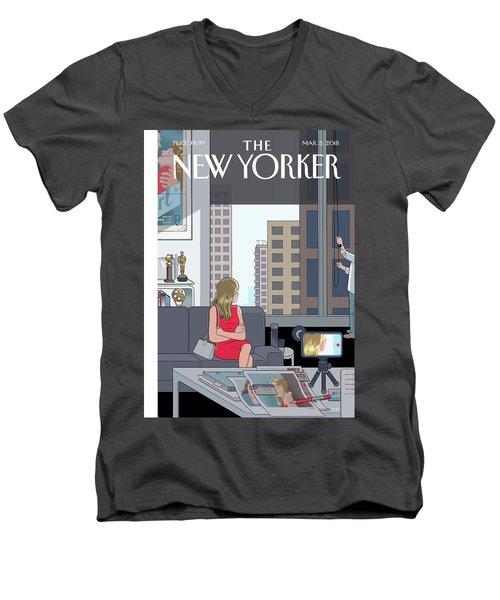 Golden Opportunity Men's V-Neck T-Shirt