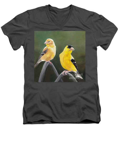 Golden Pair Men's V-Neck T-Shirt