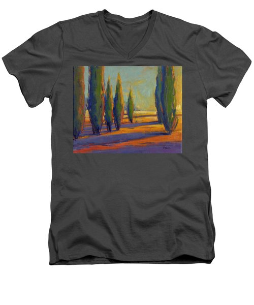 Golden Silence 2 Men's V-Neck T-Shirt