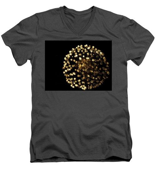 Men's V-Neck T-Shirt featuring the photograph Golden by Tara Lynn