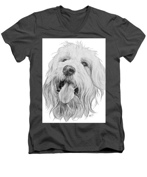 Goldendoodle Men's V-Neck T-Shirt