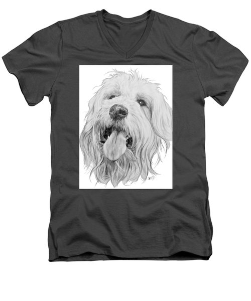 Goldendoodle Men's V-Neck T-Shirt