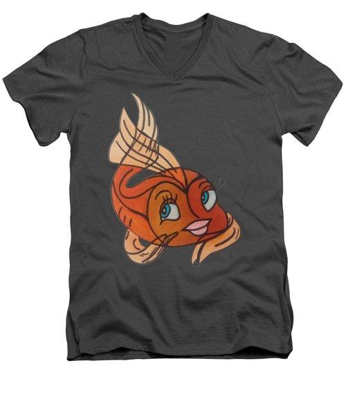 Goldie Men's V-Neck T-Shirt