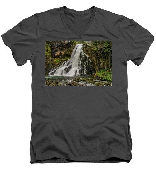 Golling Falls Men's V-Neck T-Shirt