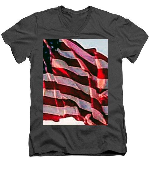 Gomaga Men's V-Neck T-Shirt