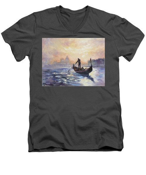 Gondolier Men's V-Neck T-Shirt