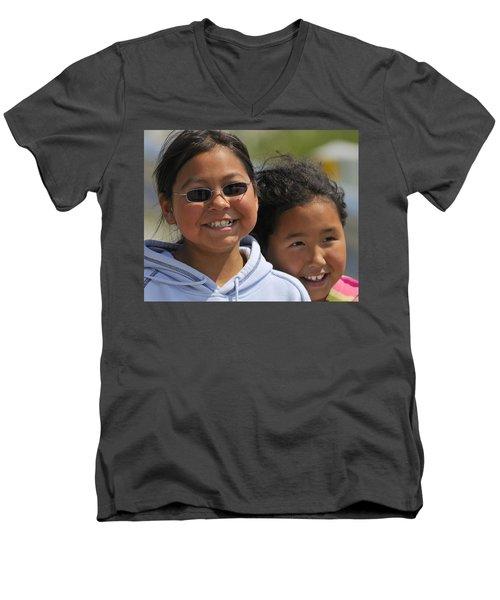 Good Friends Men's V-Neck T-Shirt
