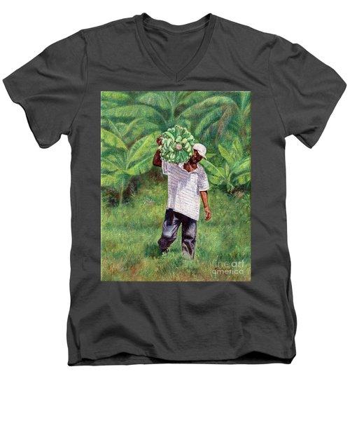 Good Harvest Men's V-Neck T-Shirt