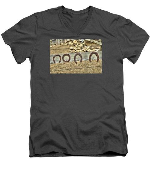 Good Luck Charm Men's V-Neck T-Shirt