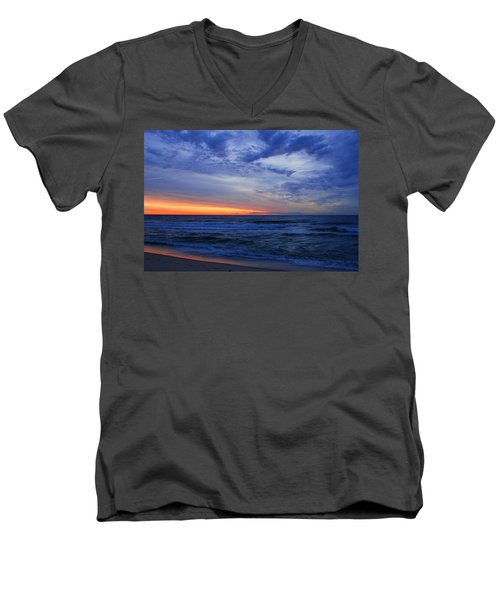 Good Morning - Jersey Shore Men's V-Neck T-Shirt