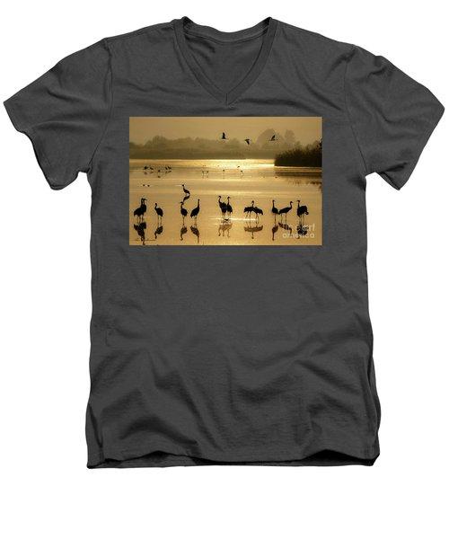 Good Morning Chula Lake Men's V-Neck T-Shirt