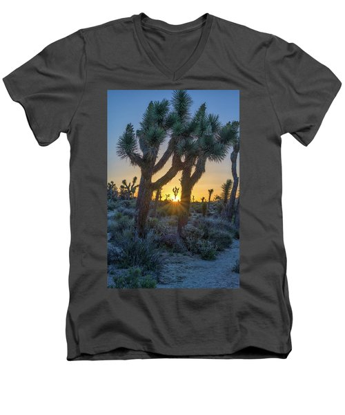 Good Morning From Joshua Tree Men's V-Neck T-Shirt