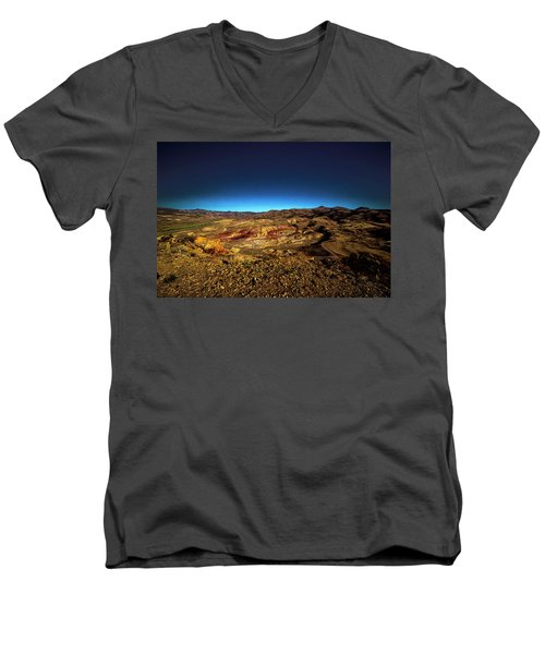 Good Morning From The Oregon Desert Men's V-Neck T-Shirt