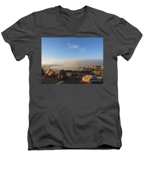 Good Morning Pueblo Men's V-Neck T-Shirt