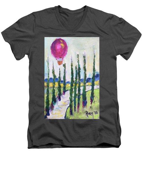 Good Morning Wine Country Men's V-Neck T-Shirt