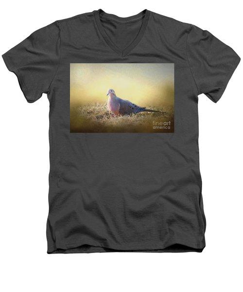 Good Mourning Dove Men's V-Neck T-Shirt