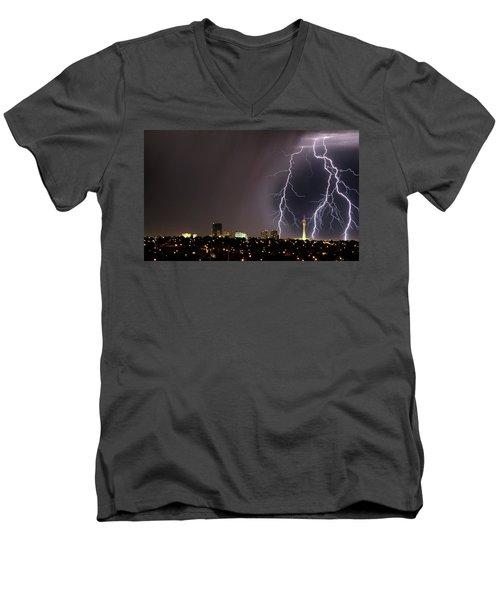 Good Night Everybody Men's V-Neck T-Shirt