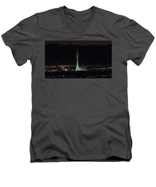 Good Night Men's V-Neck T-Shirt