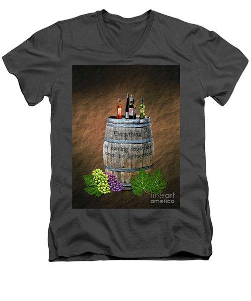 Good Things Take Time Men's V-Neck T-Shirt