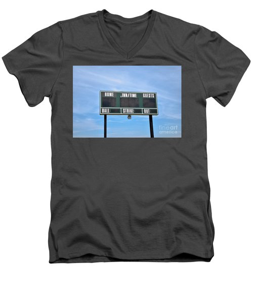 Men's V-Neck T-Shirt featuring the photograph Good Times - Sports ...  by Ray Shrewsberry