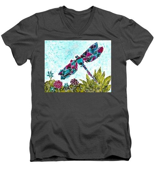 Good Vibrations II Men's V-Neck T-Shirt