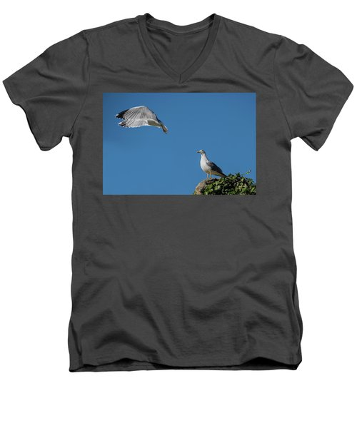 Goodbye My Love Men's V-Neck T-Shirt