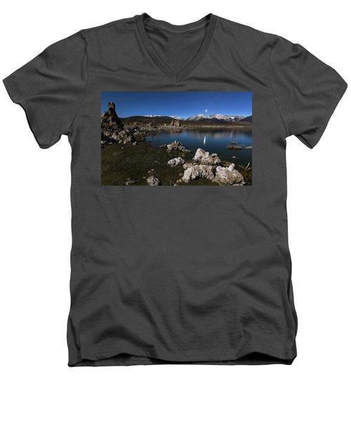 Goodnight Venus Men's V-Neck T-Shirt by Tassanee Angiolillo