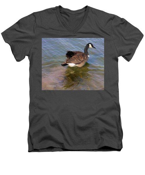 Goose Men's V-Neck T-Shirt