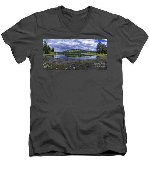 Goose Pasture Tarn Men's V-Neck T-Shirt