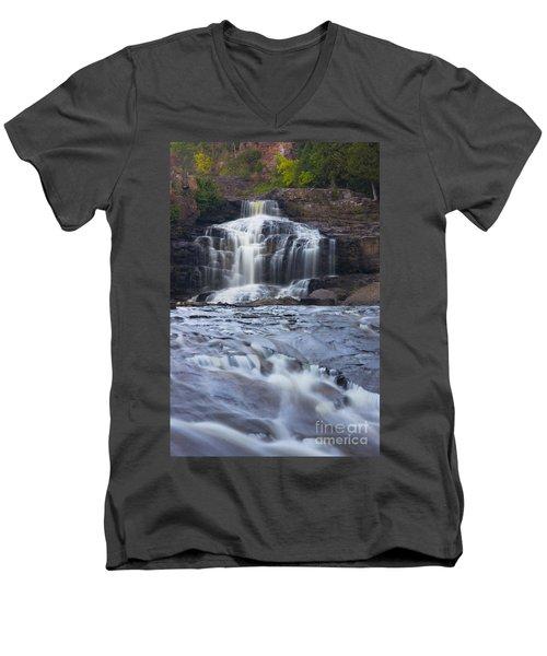 Gooseberry Falls North Shore Minnesota Men's V-Neck T-Shirt