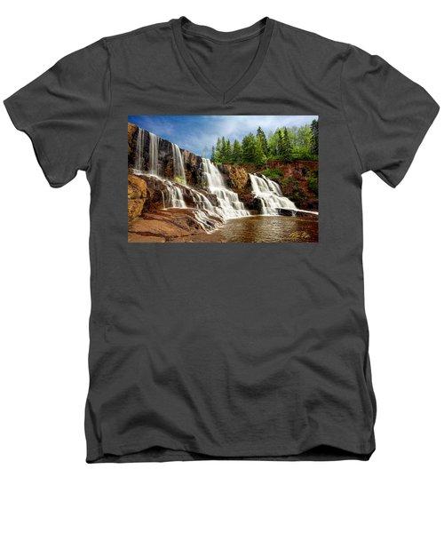 Gooseberry Falls Men's V-Neck T-Shirt