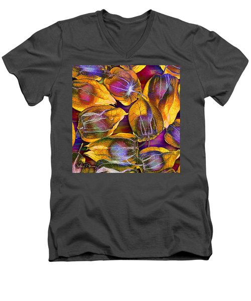 Goosed Berry Pods Men's V-Neck T-Shirt