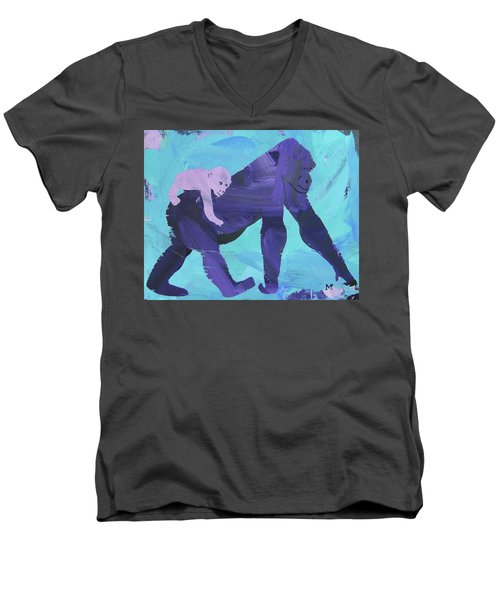 Gorgeous Gorilla Men's V-Neck T-Shirt