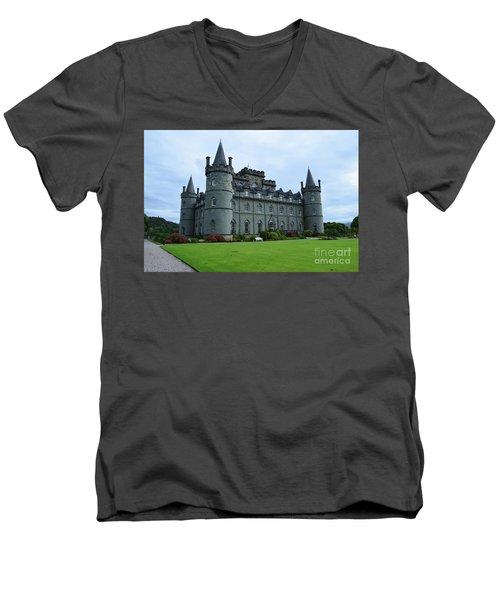 Gorgeous View Of Inveraray Castle Men's V-Neck T-Shirt
