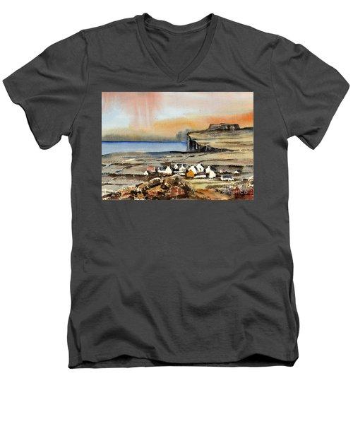 Gort Na Gapall Inismore Anan Men's V-Neck T-Shirt